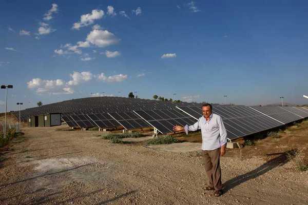 Gölbaşı'na Güneş Enerjisiyle Çalışan Elektrik Santrali Kuruldu