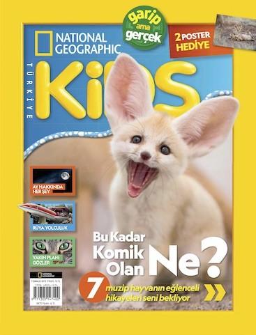 National Geographic Kids Temmuz 2019 Pdf E-kitap indir E-Dergi indir