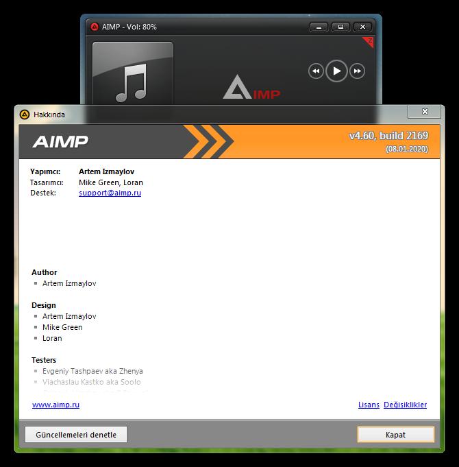 AIMP 4.60 Build 2169 Final   Katılımsız