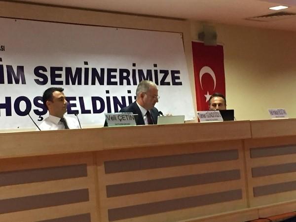 Antalya serbest muhasebeci mali müşavirler odasında, bugün yapılan İZAHA DAVET MÜESSESİ KONULU seminer yapıldı.