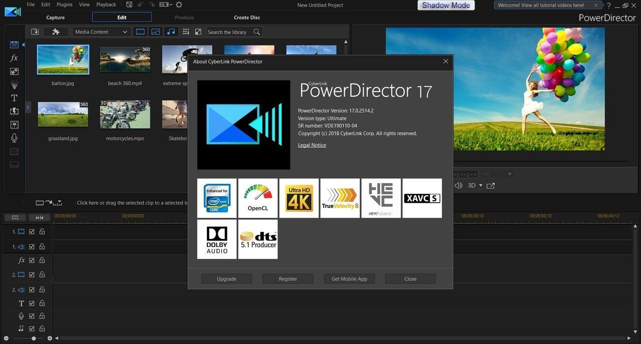 CyberLink PowerDirector Ultimate Video Editörü Full İndir