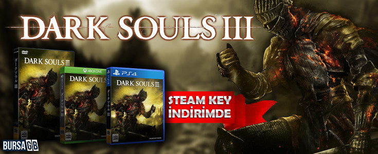 Dark Souls III Steam CD KEY Global Indirimde