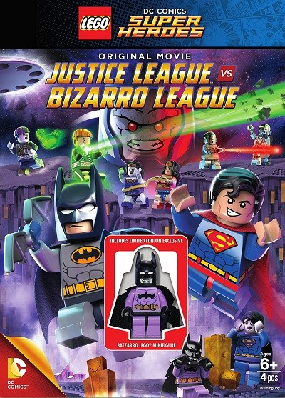 Lego DC Comics Super Heroes: Justice League vs. Bizarro League 2015 BRRip XviD Türkçe Dublaj – Tek Link