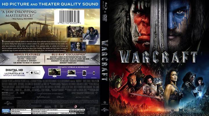 Warcraft : İki Dünyanın İlk Karşılaşması – Warcraft 2016 DVD-9 DUAL TR-ENG – Tek Link