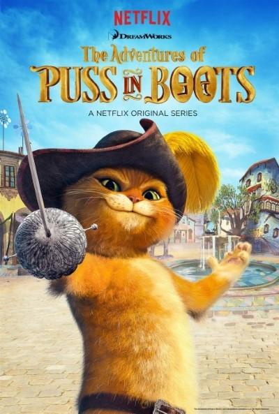 Çizmeli Kedinin Maceraları - The Adventures of Puss in Boots (2015–) Yabancı Dizi 1. Sezon Tüm Bölümler Türkçe dublaj indir