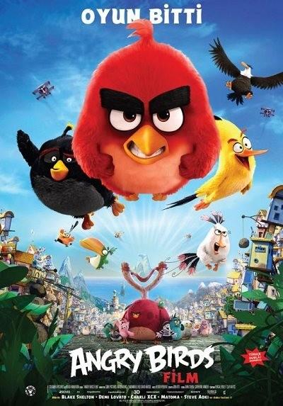 Angry Birds (2016) m720p - m1080p DUAL indir