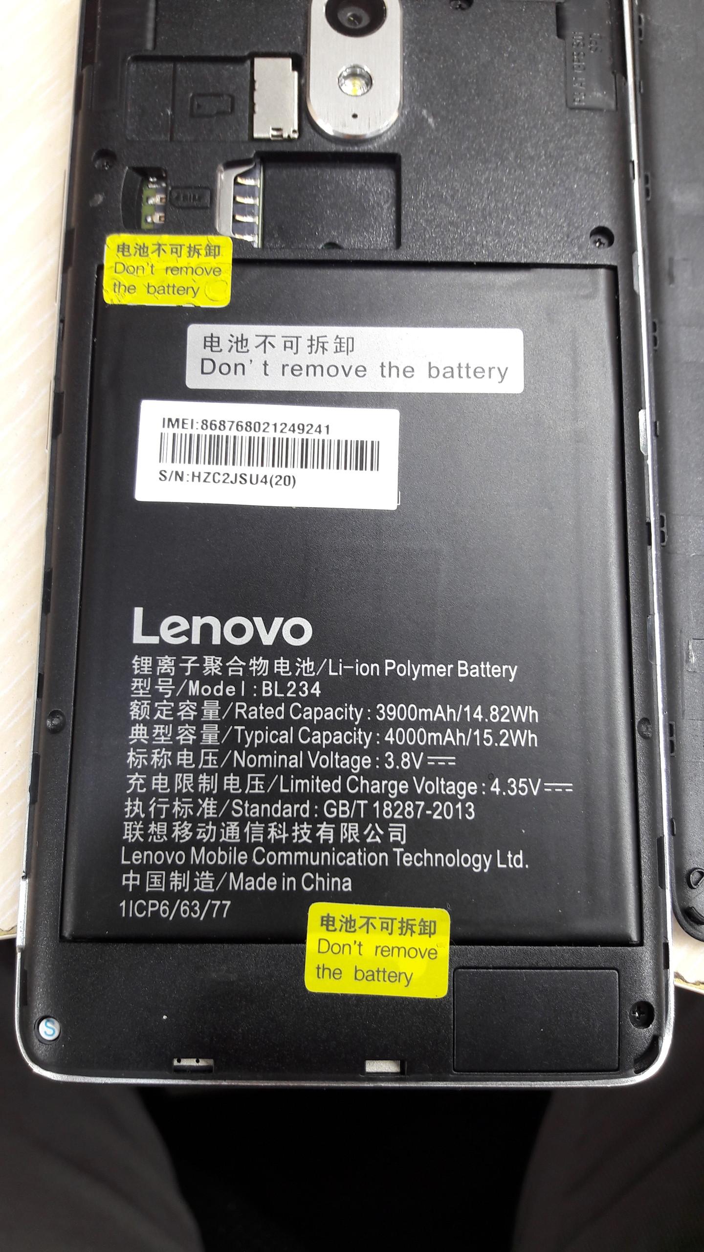 Lenovo P1MA40 Firmware Helps    - GSM-Forum