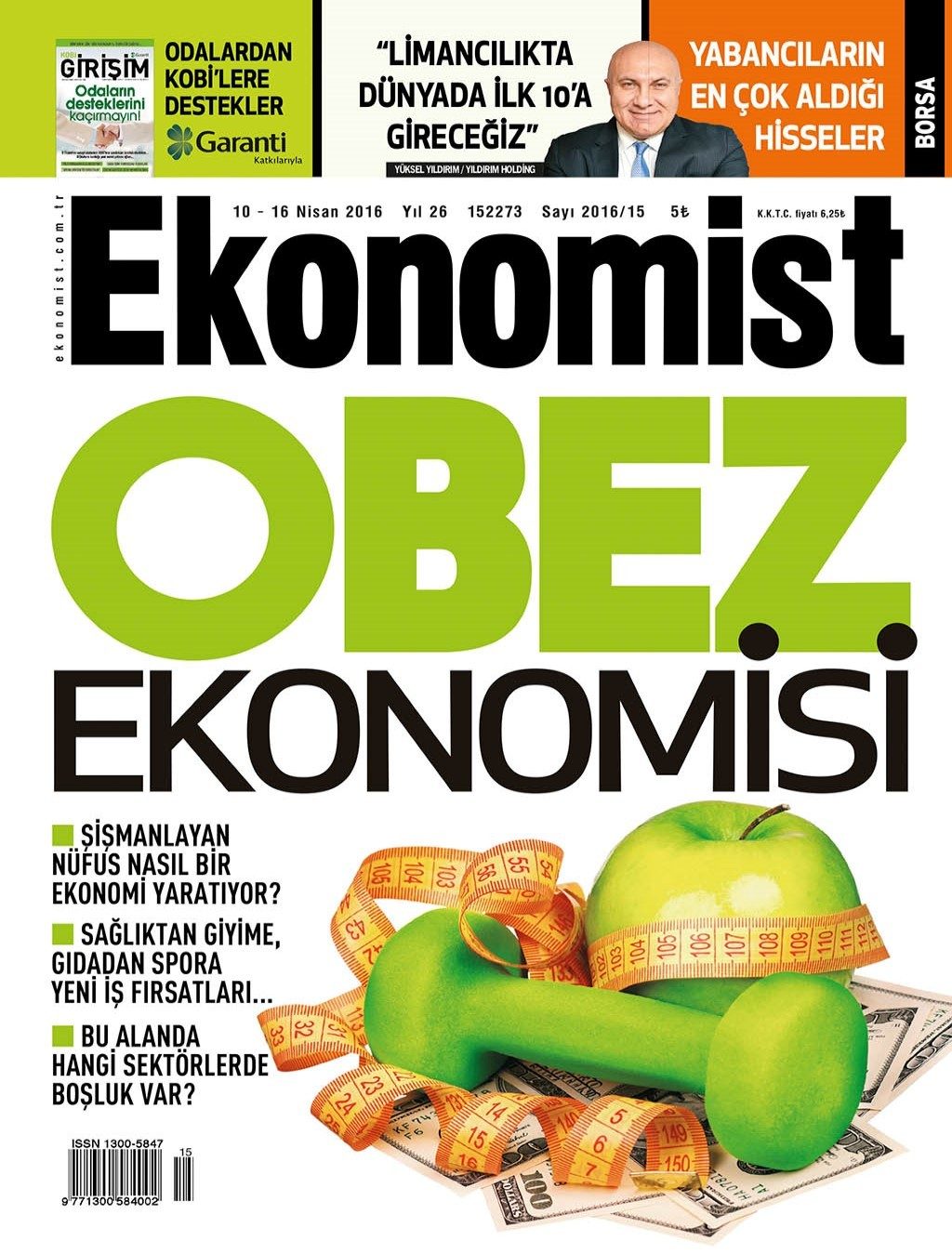 Ekonomist 10 Nisan 2016 PDF Dergi indir