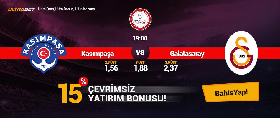 Kasımpaşa - Galatasaray Canlı Maç İzle