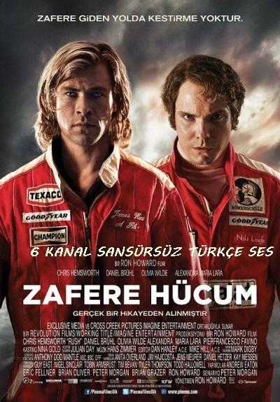 Zafere Hücum - Rush 2013 720p Bluray x264 Türkçe Dublaj Kota Dostu İndir