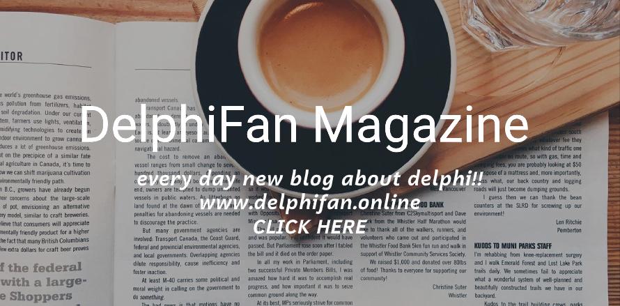 Delphifan Magazine