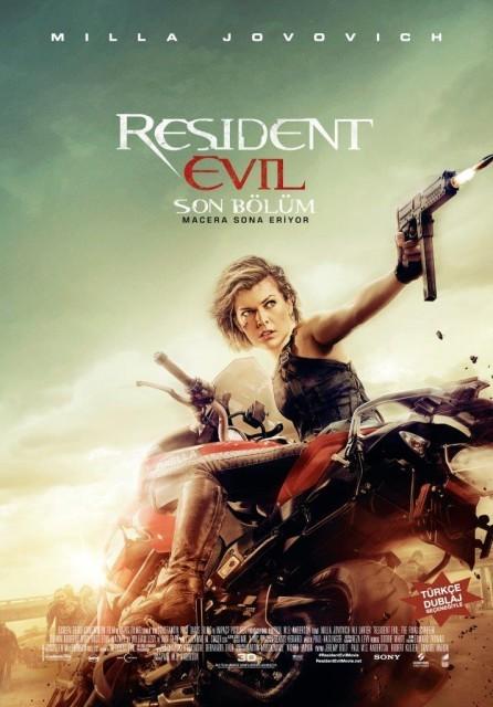 Resident Evil: Son Bölüm Türkçe Dublaj izle – Tek Parça