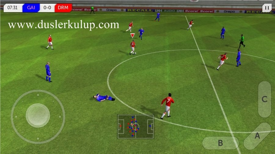 X06d2o Dream League Soccer 2017 Android Futbol Oyununu Hileli İndir