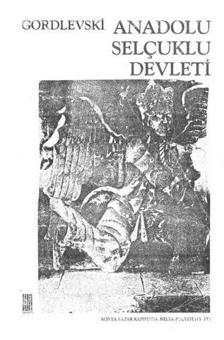 V. Gordlevski Anadolu Selçuklu Devleti Pdf