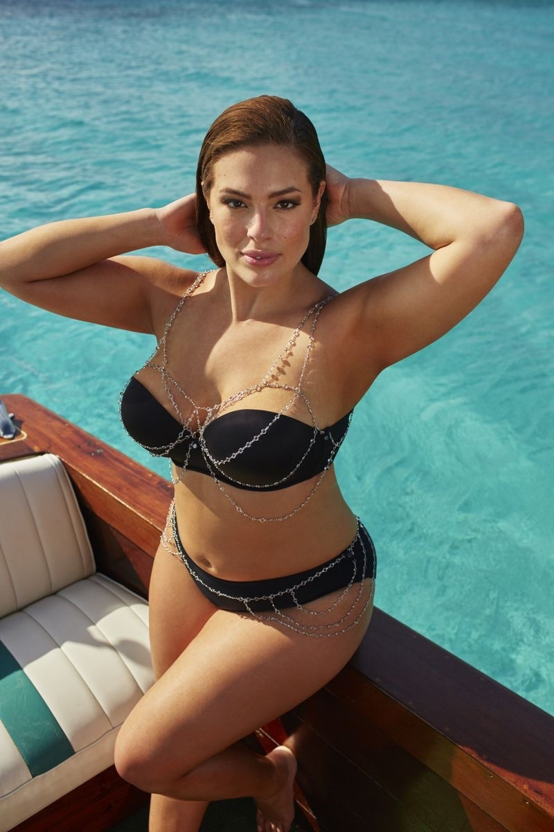 Ashley Graham Ağır çəkili model - FOTOLAR 18+