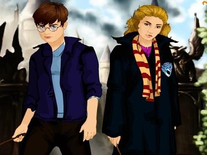 Harry Potteri Giydir Oyunu