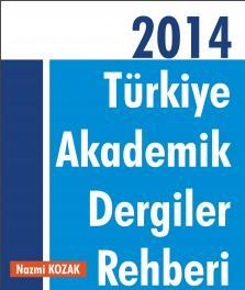 Türkiye akademik dergiler rehberi yayınlandı