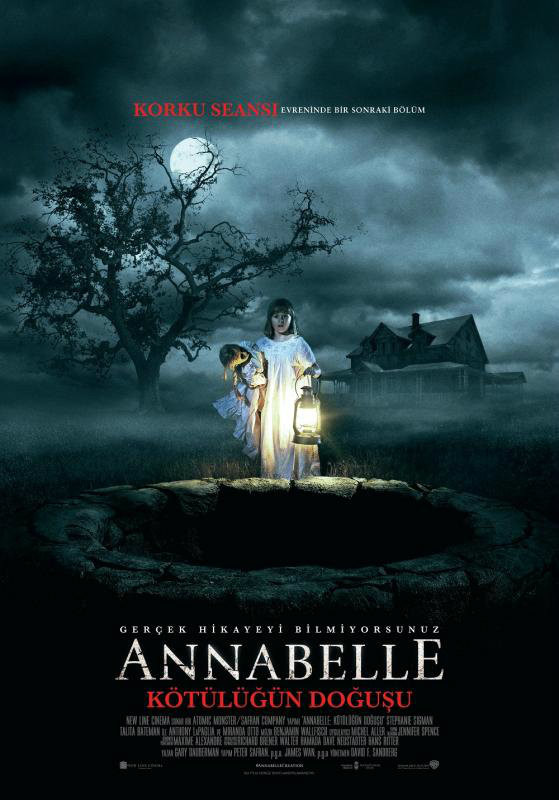 Annabelle 2: Creation (2017) TR Altyazı BRRip Film İndir