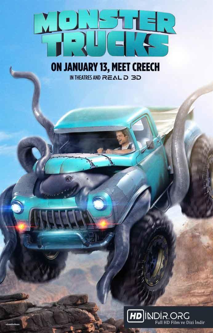 Canavar Kamyonlar (2016) Türkçe Dublaj HD Film İndir