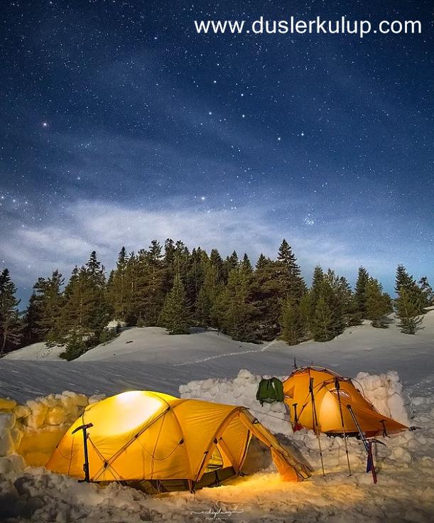 Kış Kampı Yapacaklar İçin Önemli Derece Bilgiler