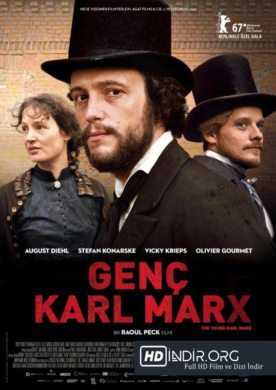 Genç Karl Marx (2017) Türkçe Dublaj HD Film indir