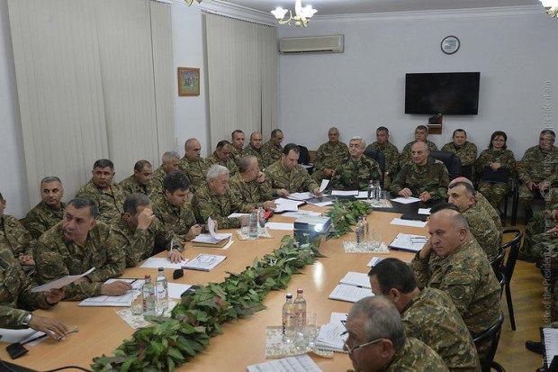 Ermənistan ordusu Qarabağda hərbi təlimlərə başlayıb