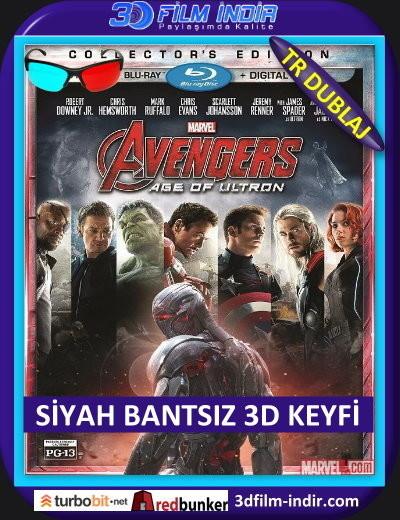 Avengers: Age of Ultron 3d – Yenilmezler: Ultron Çağı 3d 2015 ( ANAMORPHIC Siyah Bantsız BluRay m1080p 3d) Türkçe Dublajlı 3 boyutlu film indir