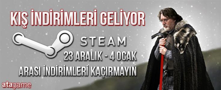 Steam Yılbaşı İndirimleri Coşturuyor