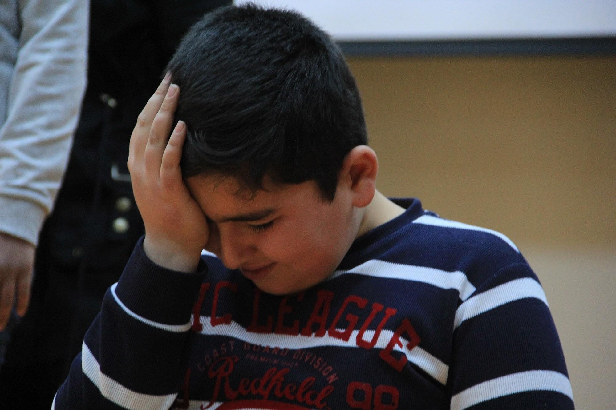 Suriyeli Çocukların Savaşı Anlatmaya Güçleri Yetmedi