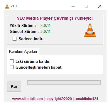 VLC Media Player Çevrimiçi Yükleyici v1.1 cover