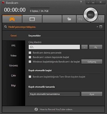 Bandicam 4.0.1.1339  Multilingual + Portable | Full İndir