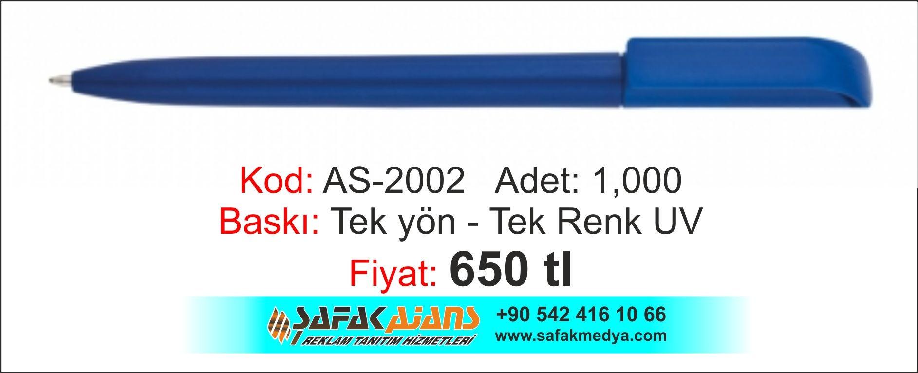 PLASTİK KALEM - AS-2002