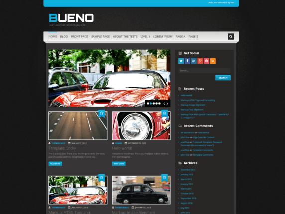 Wordpress Bueno Teması indir