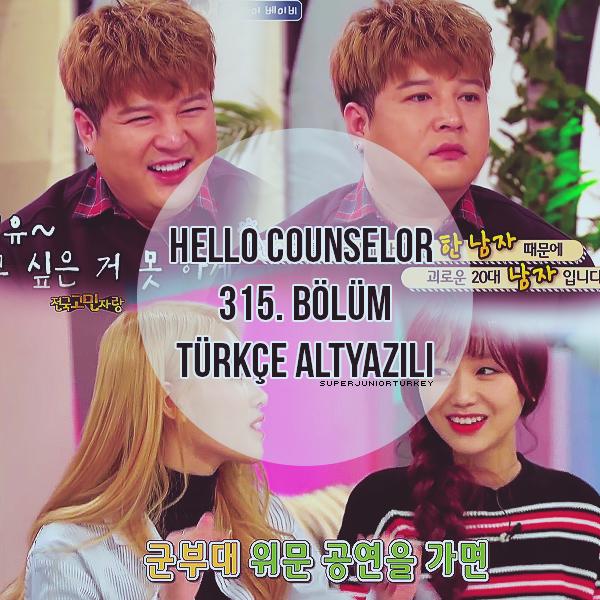 Hello Counselor 315. Bölüm (Shindong, Mijoo, Sujeong) [Türkçe Altyazılı] XMmB2R