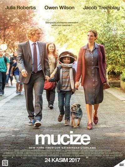 Mucize – Wonder 2017 Türkçe Dublaj film indir
