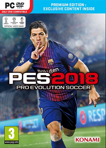 Pro Evolution Soccer 2018 / PC (FULL)