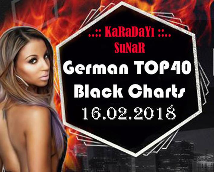 Yabanci  - VA - German TOP-40 | Black Charts 16 02 2018 | 320 Kbps