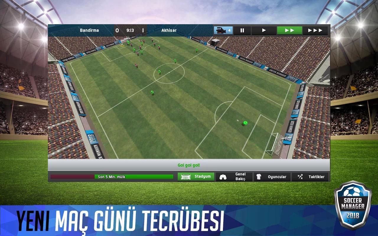 Soccer Manager 2018 Apk İndir