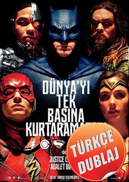 Justice League: Adalet Birliği 2017 (BRRip) TR Dublaj Film İndir