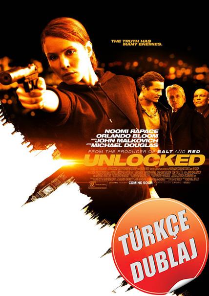 Unlocked - Kilitsiz 2017 (BRRip) TR Dublaj Film İndir