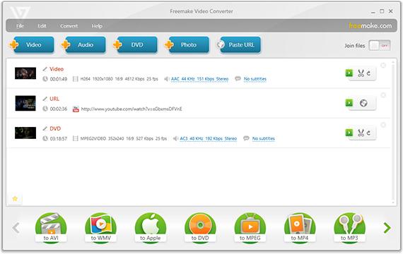 Freemake Video Converter Gold 4.1.10.190