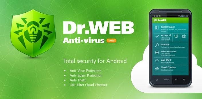 Anti-virus Dr.Web Light APK İndir