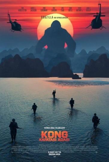 Kong: Kafatası Adası Türkçe Dublaj izle – Tek Parça