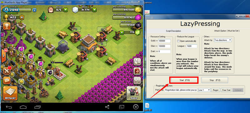 Clash of Clans Apk Bot Hile