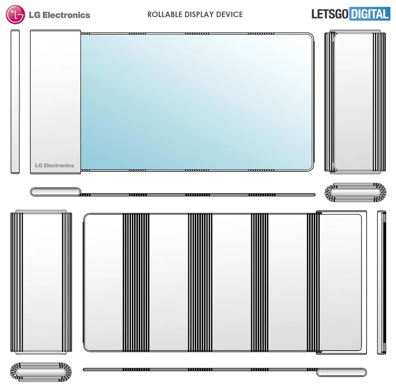 LG Yuvarlanabilir Ekranlı Telefon Tasarımının Patentini Aldı!