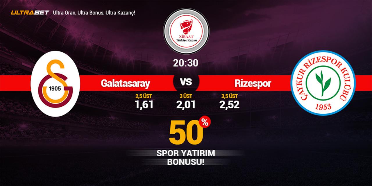 Galatasaray - Rizespor Canlı Maç izle