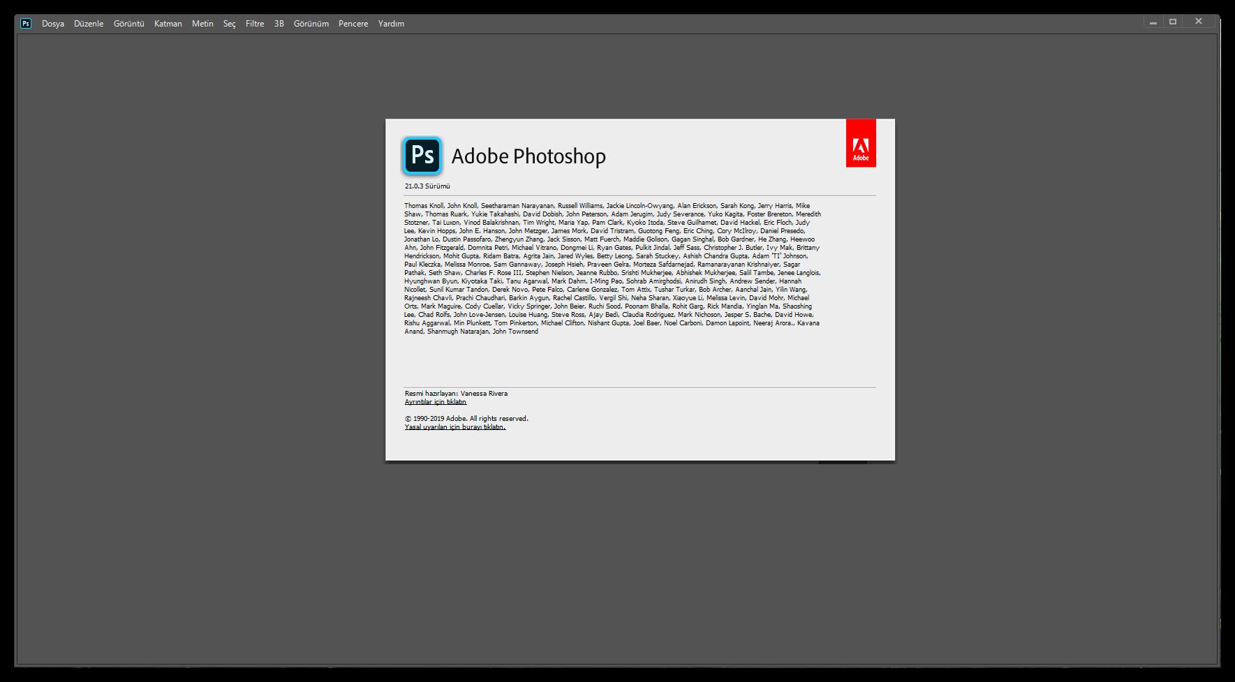 Adobe Photoshop 2020 21.0.3.91 (x64)   Katılımsız