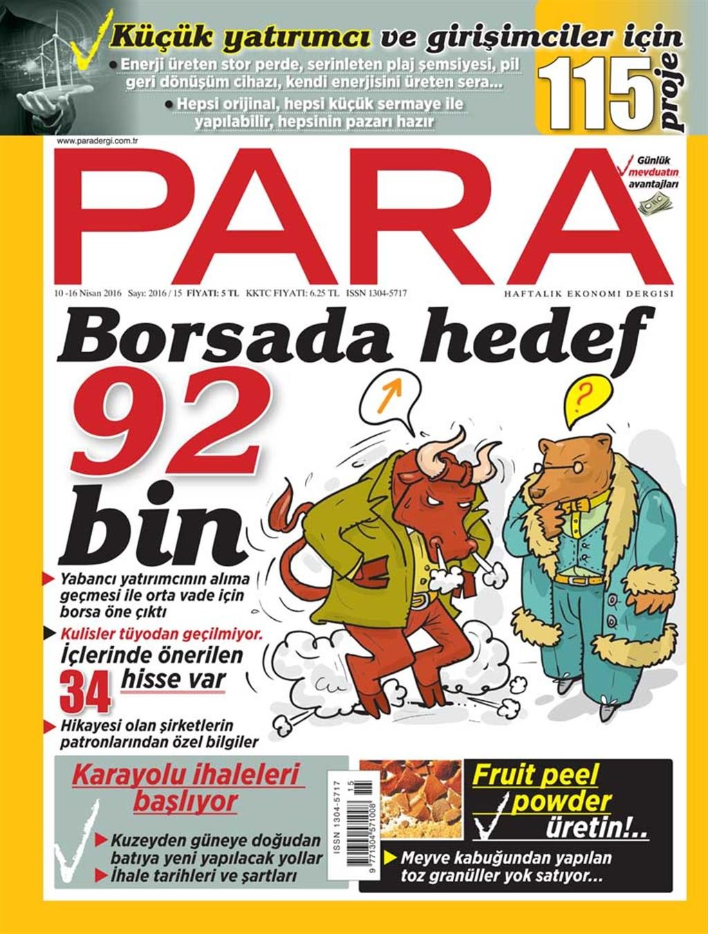 Para Nisan E-dergi indir Sandalca.com