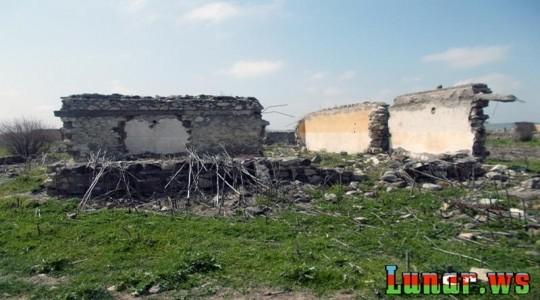 Ermənilərdən azad olunan kənddən fotolar