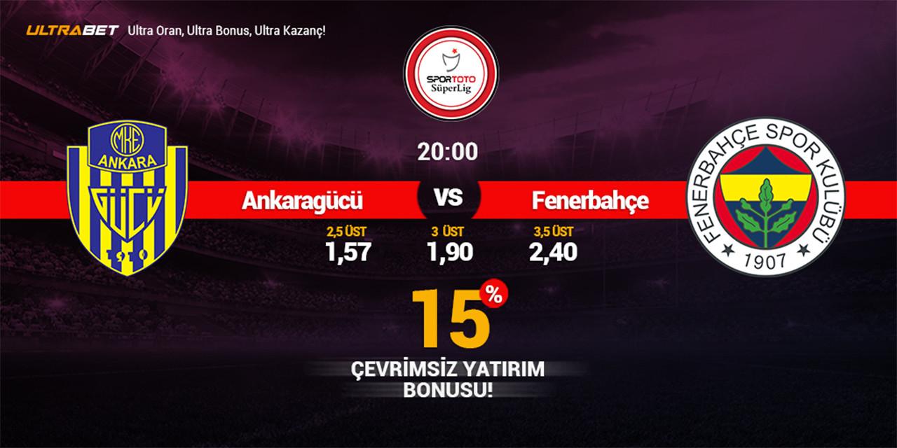 Ankaragücü - Fenerbahçe Canlı Maç İzle